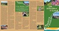 Flyer Wandern - Alfeld