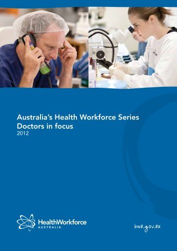 Australia's Health Workforce Series: Doctors In Focus - LIME Network