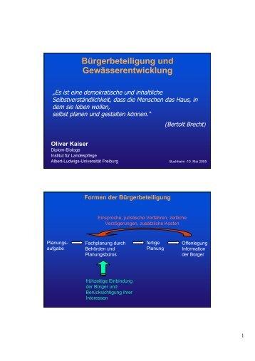 'StadtGewässer' als PDF-Datei zum downloaden - unsere Dreisam
