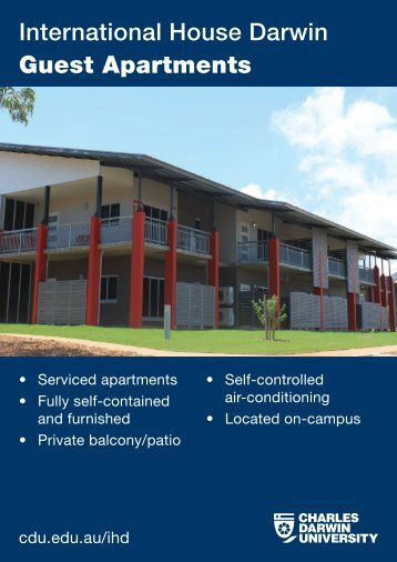 Guest Apartments - Charles Darwin University