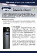 Energiatakarékos melegvíztároló beépített leveg s h szivattyúval - Page 2