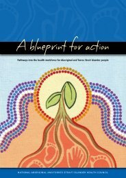 Pathways into the health workforce for Aboriginal and Torres Strait ...