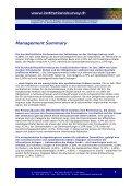 Management Summary - Swiss Institutional Survey - Seite 3