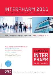 CCH – Congress Center Hamburg - Interpharm