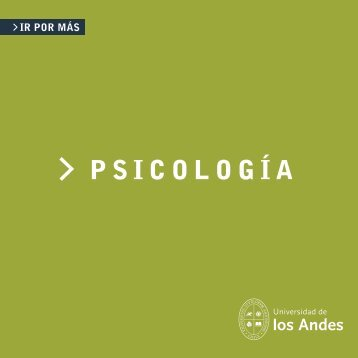 Folleto Psicologia (23x23) copia - Universidad de los Andes ...