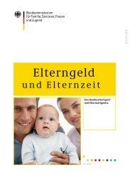 Elterngeld und Elternzeit - Familie. Arbeit. Innovation. Region.