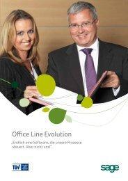 Office Line Evolution Advanced - Software von Sage powered by EPC