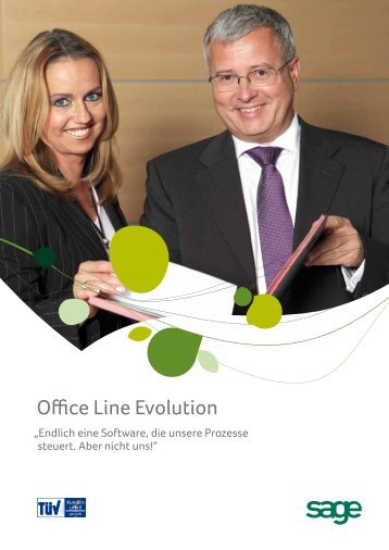 Office Line Evolution Advanced - Software von Sage powered by EPC