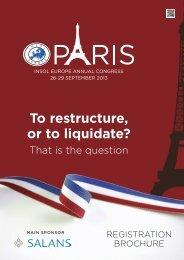 Brochure - Turnaround Management Association (UK)