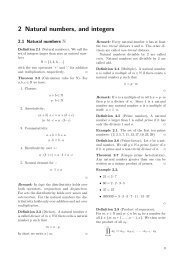 2 Natural numbers, and integers - Rrhess.de