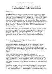 Vortrag: Wie Liebe gelingt - Manfred Scherrmann