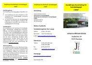 Fachschule für Sozialpädagogik - Johanna-Wittum-Schule