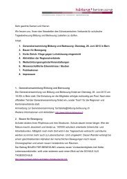 Newsletter Juni 2013 (PDF) - Bildung und Betreuung