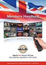Members Handbook - Watch UK TV Abroad