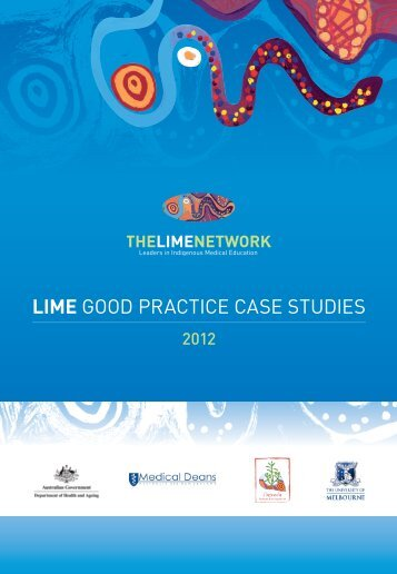 LIME GOOD PRACTICE CASE STUDIES - LIME Network