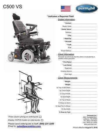 C500 Lowrider Chair Model