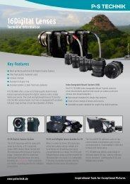 16Digital Lenses Technical Information 8mm / T1.9 - P+S TECHNIK