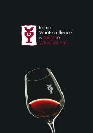La brochure di Roma VinoExcellence & Merano ... - Vini e Sapori