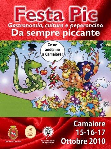 Il programma della Festa - Vini e Sapori