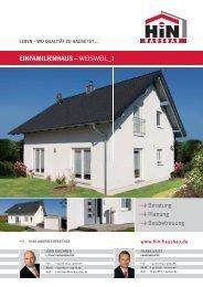 Hausbroschüre Einfamilienhaus-Weisweil_1 - Hin Hausbau