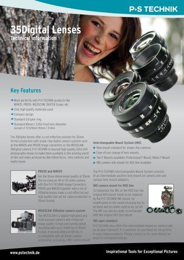 35Digital Lenses Technical Information - P+S TECHNIK