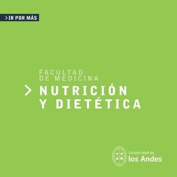 NUTRICIÓN Y DIETÉTICA - Universidad de los Andes - Admisión
