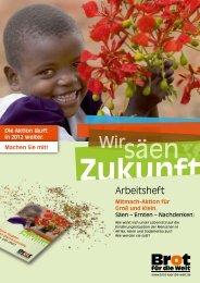 PDF, 2.5 MB - Brot für die Welt in der Landeskirche Hannovers