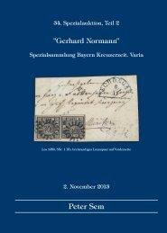 PDF Format, 35 MB - Peter Sem, Klassik Philatelie & Auktionen