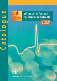 Information Products on Pharmaceuticals - Renouf Publishing Co. Ltd.