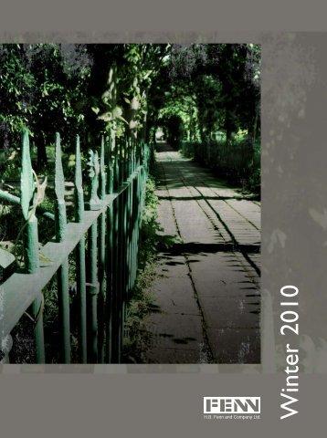 H.B. Fenn, Winter 2010 - Renouf Publishing Co. Ltd.