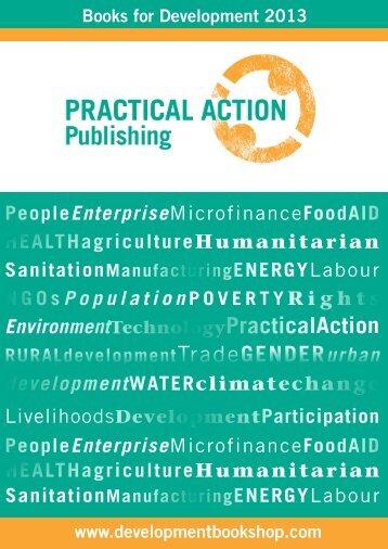 Practical Action Publishing 2013 - Renouf Publishing Co. Ltd.