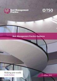 Best Management Practice Product Brochure 2013