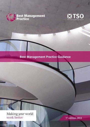 Best Management Practice Product Brochure 2013