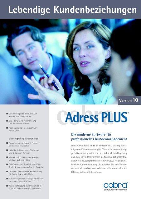 Lebendige Kundenbeziehungen - Dieter Schirmer, EDV-Beratung