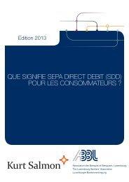 QUE SIGNIFIE SEPA DIRECT DEBIT (SDD) POUR LES ... - Raiffeisen