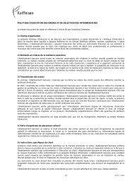 POLITIQUE D'EXÉCUTION DES ORDRES ET DE ... - Raiffeisen