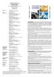 LUX-SECTORS PCT FR 2008-12 NT - Raiffeisen