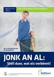 JONK AN AL: Stell duer, wat eis verbënnt! - Raiffeisen