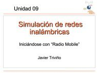 Simulación de redes inalámbricas - ItrainOnline
