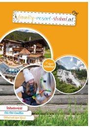 Prospekt Family-Resort-Stubai