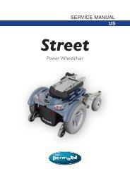 Street SERVICE MANUAL - Permobil