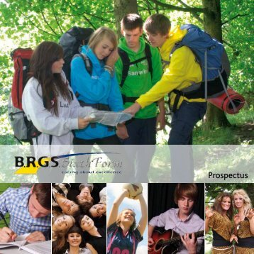 Sixth Form Prospectus - click here - brgs.me
