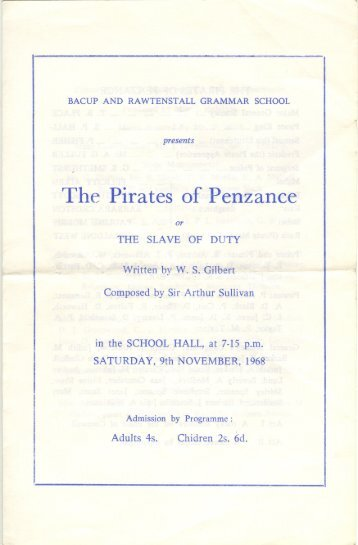 The Pirates of Penzance - brgs.me