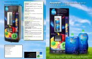 Pouchlink™ – the green revolution in cold drinks vending - Vendo