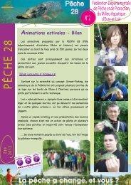 newsletter n°2 - Fédération nationale de la pêche en France