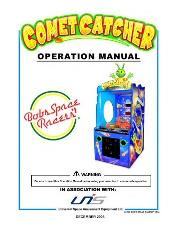 Ccmet Catcher Owners Manual.1522 - The Shaffer Distributing ...