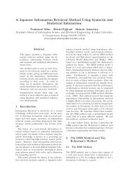 A Japanese Information Retrieval Method Using Syntactic and ...