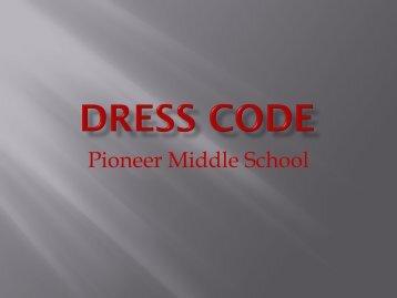 Dress Code Presentation (pdf format)