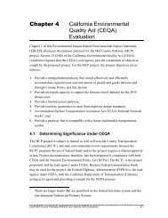 4.0 CEQA Evaluation - Mid County Parkway Project