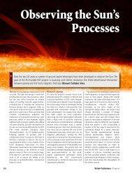 Observing the Sun's Processes - Instituto de Astrofísica de Canarias